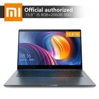 Xiaomi Тетрадь Pro 15,6 ''8 ГБ Оперативная память 256 SSD Intel Core i5 8250U 4 ядра компьютер MX150 2 ГБ GDDR5 распознавания отпечатков пальцев ноутбука