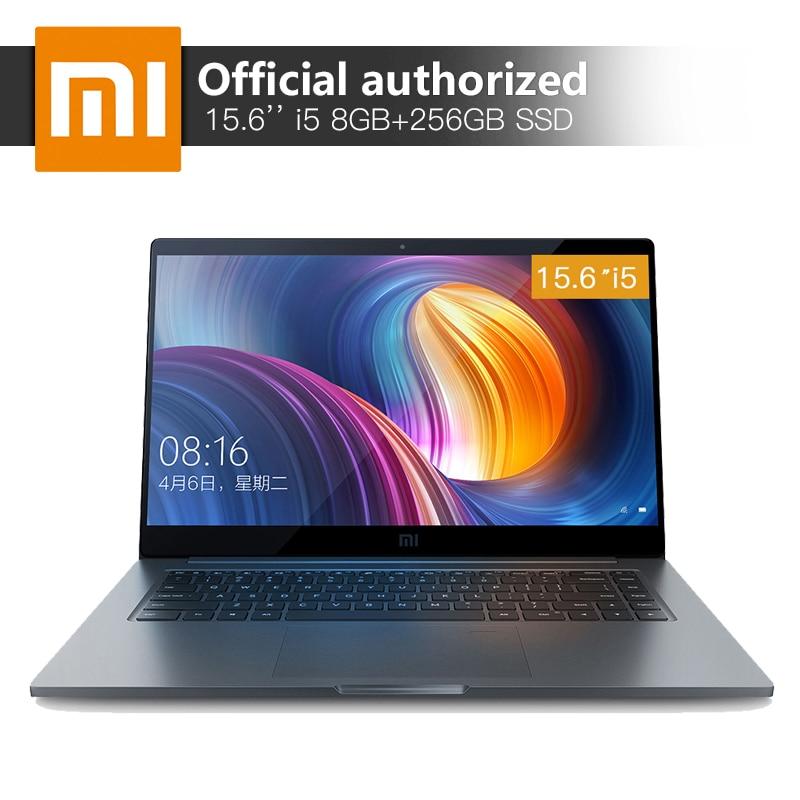 Xiaomi Notebook Pro 15,6 8 GB RAM 256 GB SSD Intel Core i5-8250U Quad Core computadora MX150 2 GB GDDR5 reconocimiento de la huella digital portátil