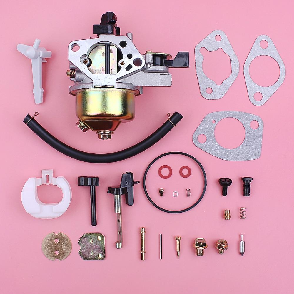 Us 21 98 Carburetor Carb Gasket Repair Rebuild Kit For Honda Gx390 13hp Gx 390 Lawn Mower Engine Motor Part Fuel Line Choke Rod In From