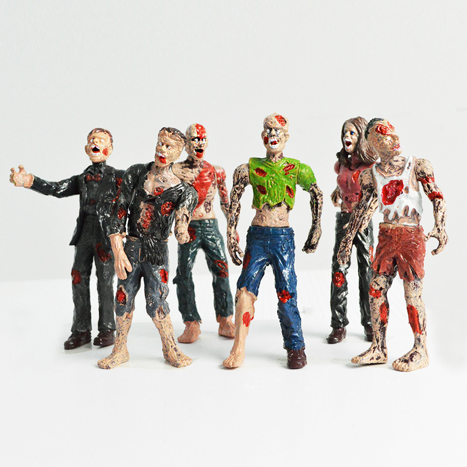 6pcs-lot-popular-action-figures-toys-zombie-font-b-walking-b-font-font-b-dead-b-font-dolls-static-model-of-joint-movable-realistic-toy