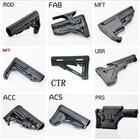 Outdoor shooting game Gel water bomb gun for PRS UBR CTR MFT FAB CAA ACS VLTOR MOD nerfly Retrofitted accessories rifle mode