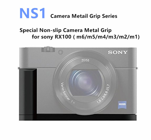 Nicad Quick Release L Plate Camera Metal Grip For Sony Rx100 M6