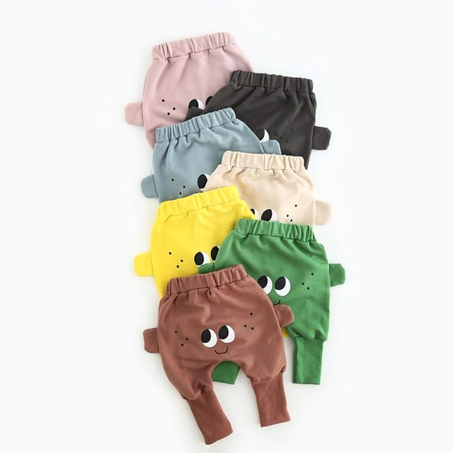 2017 Baby Pants Cotton Fashion Baby Boy Pants Baby Girl  Infant Pants Newborn Baby Trousers Spring & Autumn for 0-2 Year Old