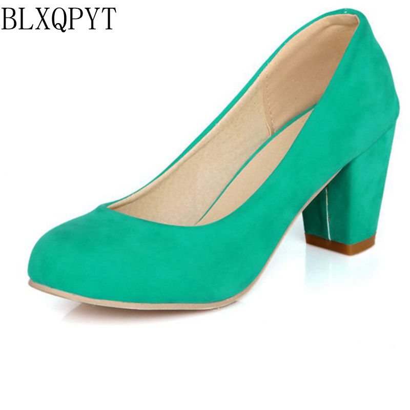 Hot Sale Zapatos Mujer Tacon Big Size 31-47 3 Colour New Spring Autumn Women