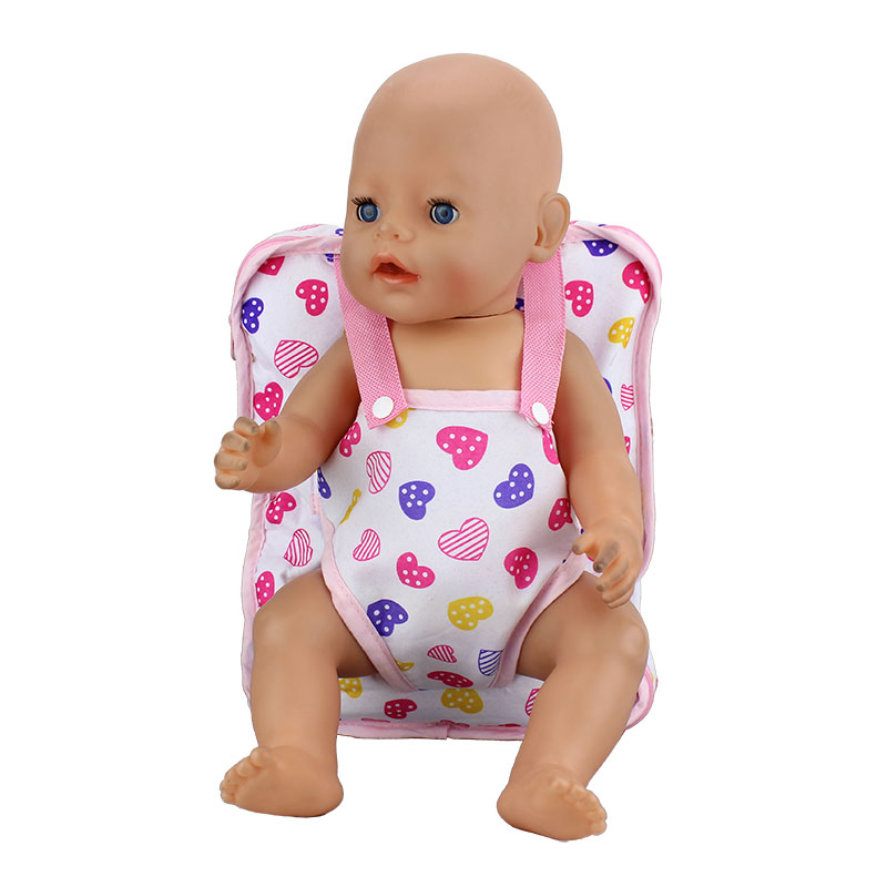Doll Accessories Outgoing Packets Outdoor Carrying Doll Backpack Suitable for Carrying 43cm Baby Born Zapf Doll designs for health prenatal pro essential packets 60 pkts
