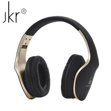 High quality wireless Bluetooth headset mobile computer player headset Bluetooth headset sports gaming headset JKR102B(China)
