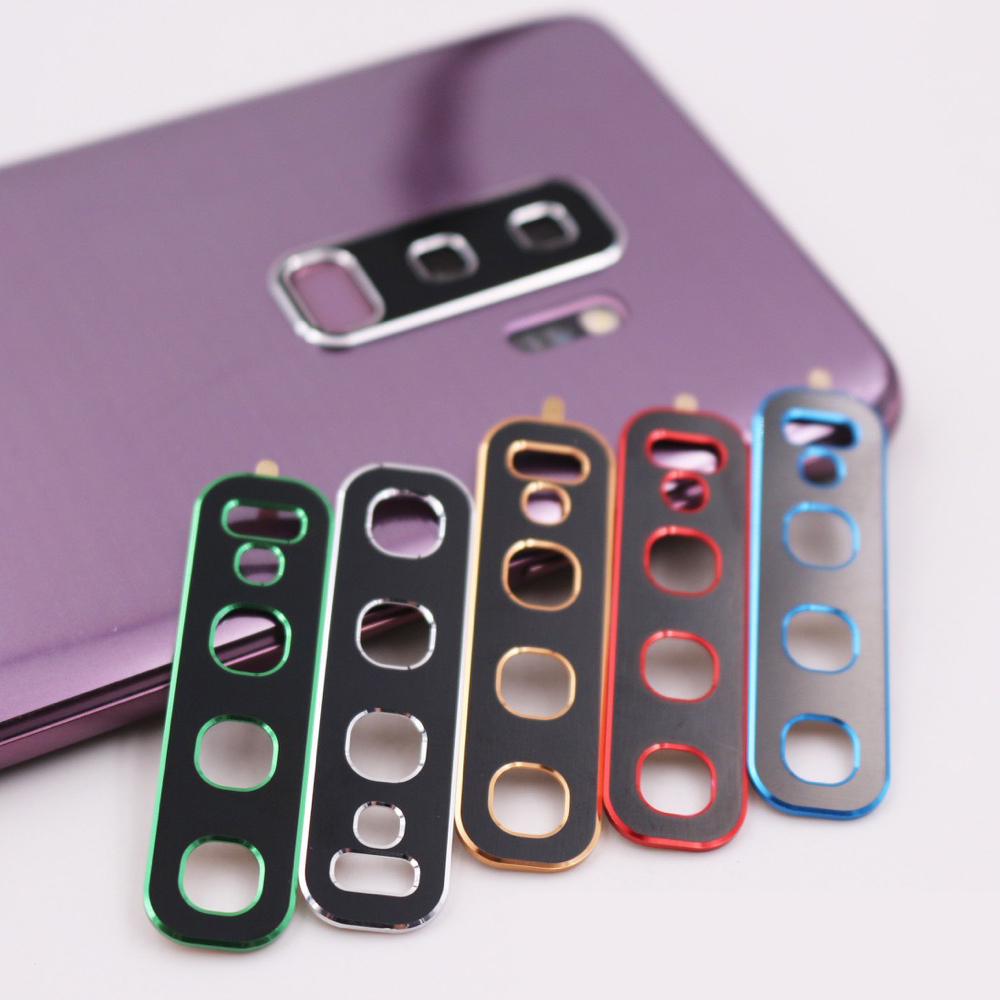 Back Camera Lens Metal Protector Case For Samsung <font><b>Galaxy</b></font> <font><b>S10</b></font> Plus S10e A9S A20 A30 A70 M10 Protective Ring Cover With <font><b>Sticker</b></font> image