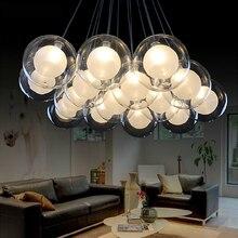 Suspension Bedroom Living Dining Room G4 Modern Led Chandelier AC85-265V  Glass Ilde Max Hanging Lamp