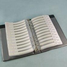 80 валов X 50 шт = 4000 шт 0402 0.5pf-1 мкФ SMD керамический конденсатор набор GRM155 серия образец Книга набор образцов