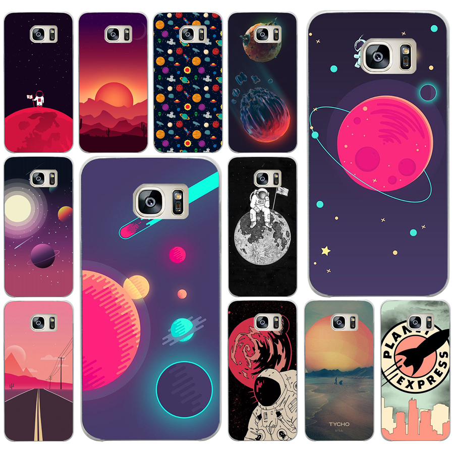 Phone Bags & Cases Cellphones & Telecommunications 255ad Space Moons Cartoon Hard Transparent Cover Case For Samsung Galaxy S4 S5 Mini S6 S6 S8 S9 Edge Plus S7 Edge