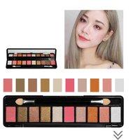 10 Colors ShimmerMatte Eyeshadow Palette Make Up Waterproof Pigments Glitter Eye Shadow Makeup Cosmetics Eye Shadow
