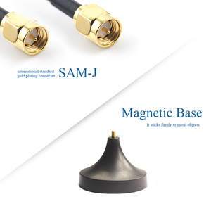 Image 4 - 2pcs 2.4G Wifi Antenna Bluetooth Antena 2.4GHz Router Antennas with Magnetic Base SMA Male 2400M Modem Aerial TX2400 XPL 150