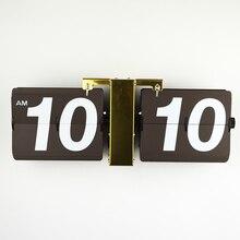 1 компл. 6 цветов 14 дюймов современный дизайн роскошный золотой цвет автопереворота настенные часы для искусства гостиной дома отделка стен подарок часы
