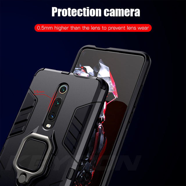 KEYSION Shockproof Armor Case For Redmi & Xiaomi
