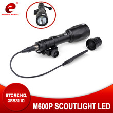 Element M600P Scout Weapon Light Full Version Tactical Flashlight For Rifle Super Bright EX362 waterproof for wargame hot sell