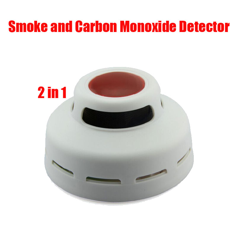 Home Standalone 2 in 1 Smoke and Carbon Monoxide Detector,CO and Fire Alarm Home House Factory Shop Security
