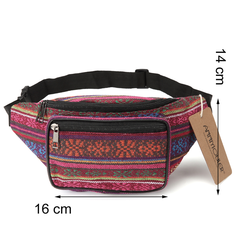Bohemian Style Tribal Phone Belt Bag