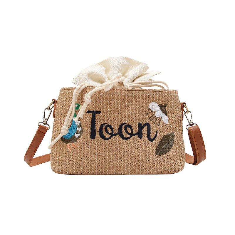 Small Flap Ribbon Women Shoulder Bag Wide Shoulder Strap Pattern Female Messenger Bag Pu Leather Female Crossbody Bag