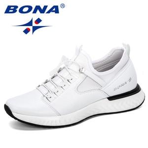 Image 2 - BONA 2019 nouveau populaire chaussures décontractées hommes en plein air baskets chaussures homme confortable à la mode hommes marche chaussures Tenis Feminino Zapatos