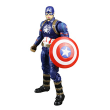 Captain America Figure Civil War Steve Rogers Tony Stark Iron Man Action Figures Model Toy Doll Gift Free Shipping