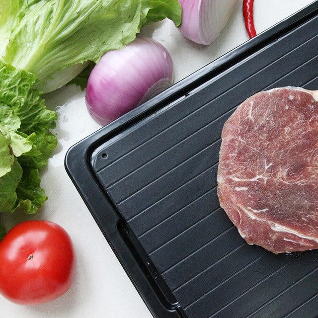 Plaque de décongélation de nourriture de dégivrage de viande congelée 3