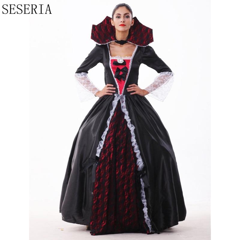 seseria gothic halloween dresspetticoat sexy vampire costume women masquerade party ghost halloween cosplay for - Halloween Petticoat