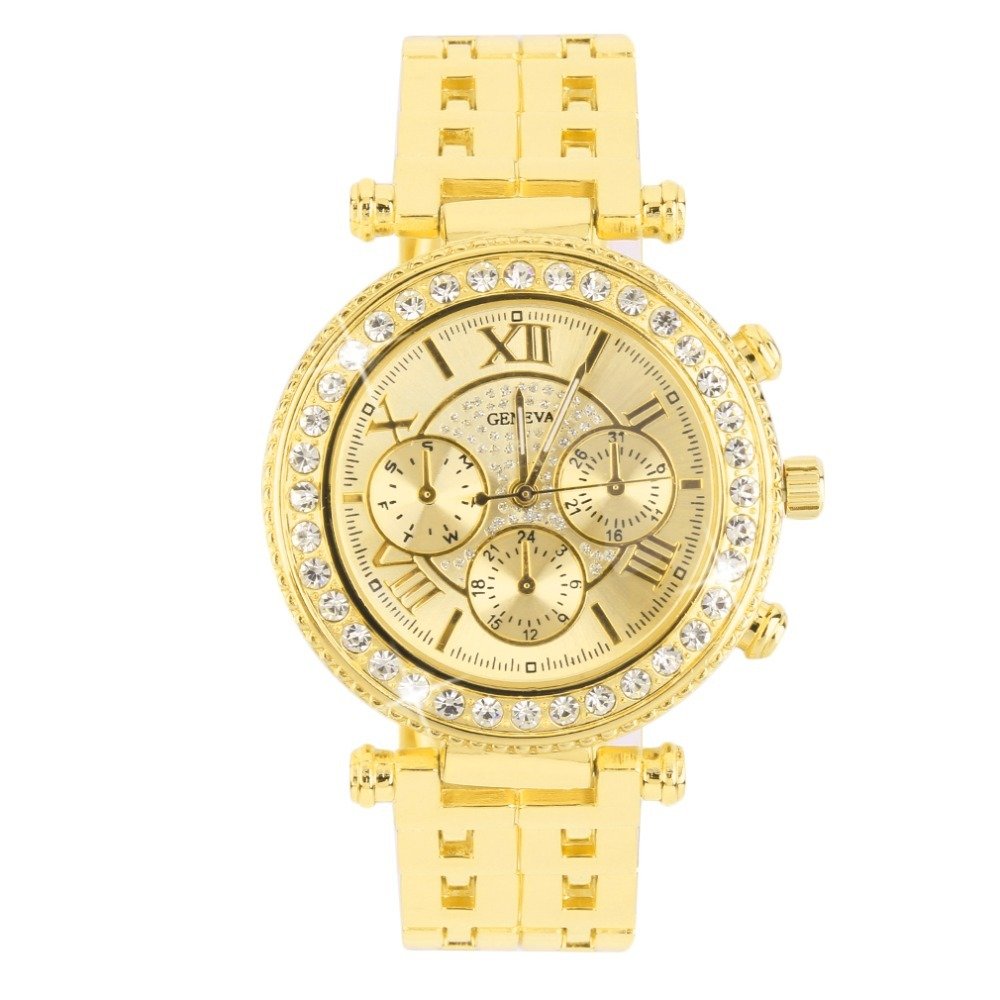 100% Wahr Trendcy Männer Frauen Strass Zifferblatt Net Stahl Band Armbanduhr Quarzuhr Geschenk Uhr Frauen Kristall Armbanduhren Reloje Masculino