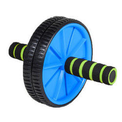 Free shipping pro abdominal double wheel ab roller gym for exercise fitness training equipment functional workout.jpg 250x250