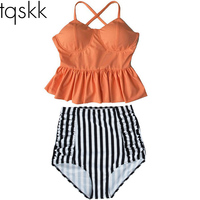 Bikini Sets 2015 New Floral Triangl Bikini Sexy Push Up Swimwear Women Swimsuit Swimwear Bathing Suit