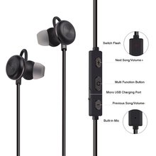 Fineborn Bluetooth Headset Wireless In-Ear Sports Earphones Wireless Earbuds with Mic sor Sports Running Noise Cancelling V4.1