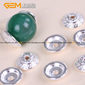 Spacer Craft Bead Caps Bright Tibetan Silver Bali Style Jewelry Findings 9mm Wholesale 20 Pcs/Bag Free Shipping
