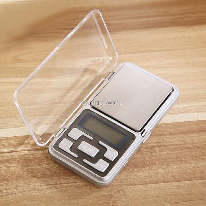 Карманный цифровые весы ювелирные изделия 500 г/0.1 г грамм Баланс Вес электронные с ABS Ключи-B119