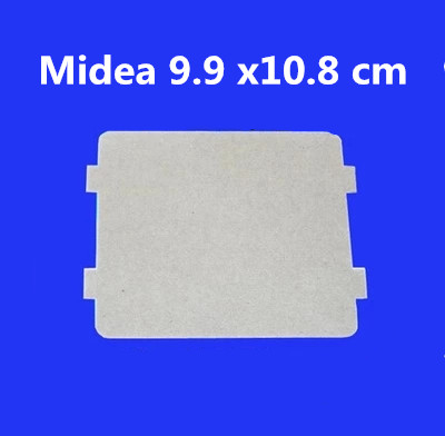5pcs Spare parts for microwave ovens mica microwave 9.9*10.8cm mica sheets for Midea magnetron cap midea microwave genuine original microwave oven magnetron for midea witol 2m219j magnetic tube disassemble 9 into a new 5 microwave ovens mica