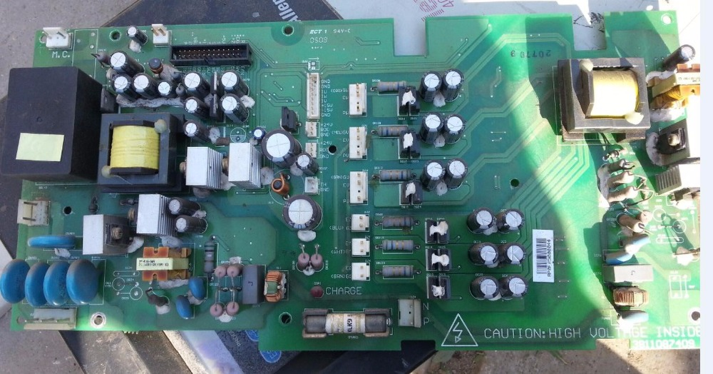 AB400 series inverter 37kw/45KW/55KW/75KW power board/driver board/main board  inverter board sint4430c 37kw