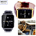 MKUYT W90 Bluetooth Smart Watch with Camera GPS Anti-lost Waterproof  Watch SIM Card Support TF Card fndroid/IOS phone PK DZ09
