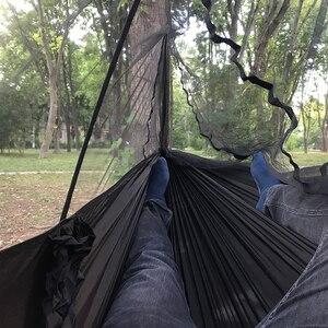 Image 4 - Ultralight Bug Net Hammock Tent Mosquito Outdoor Backyard Hiking Backpacking Travel Camping Double Hamac Rede Hamaca Hangmat