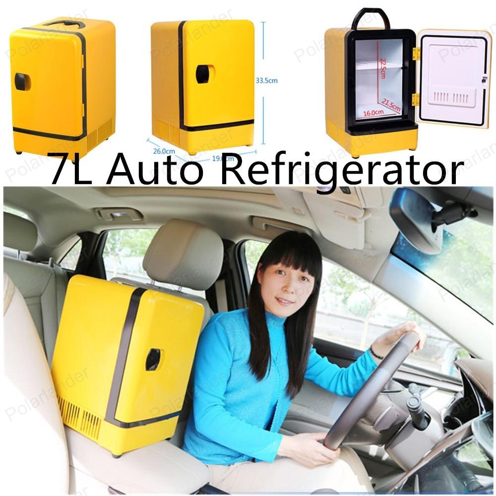 2016 mini Car Fridge 12V Car Refrigerator 7L  Car Freezer Refrigerator High Quality