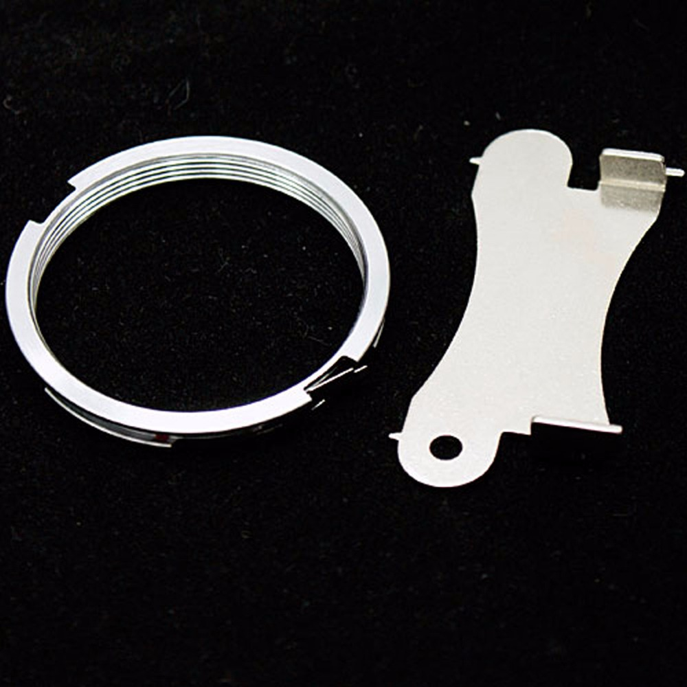 silver Lens Adapter Ring for Pentax M42 42mm and PK K Mount Adapter Infinity focus