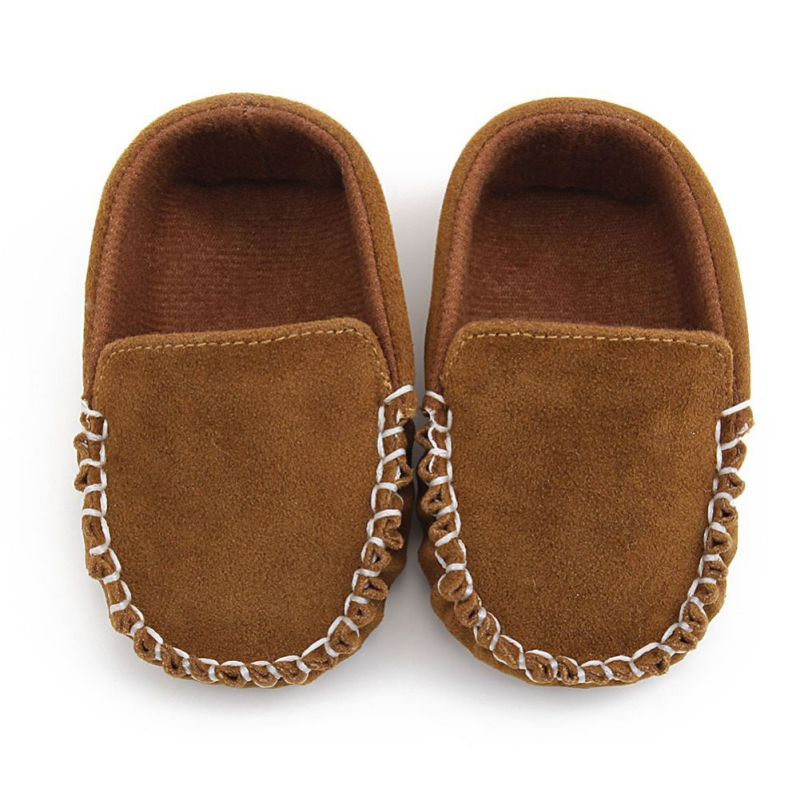 Fashion Newborn Baby Girls Autumn Spring First Walkers Anti-skid Toddler Kids Girl Cack Slip On Shallow Shoe