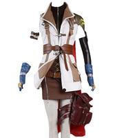 Costume Cosplay Final Fantasy XIII FF 13 Lightning Cosplay Costume Halloween Carnival Adult Women Custom Made Full Sets