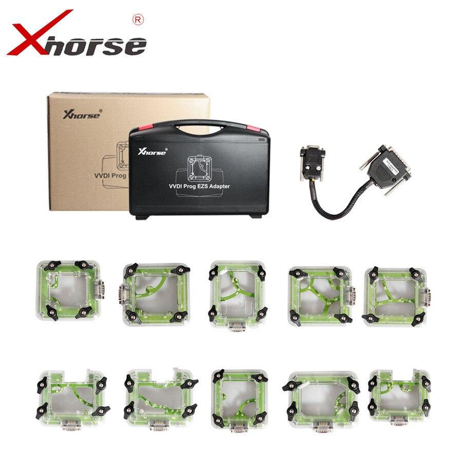 Xhorse Pour Benz VVDI PROG EZS Adaptateur EIS Adaptateurs Pour W164/W169/W203/W209/W211/ w215/W220/W230/W639/SPRINTER 10 pcs/ensemble