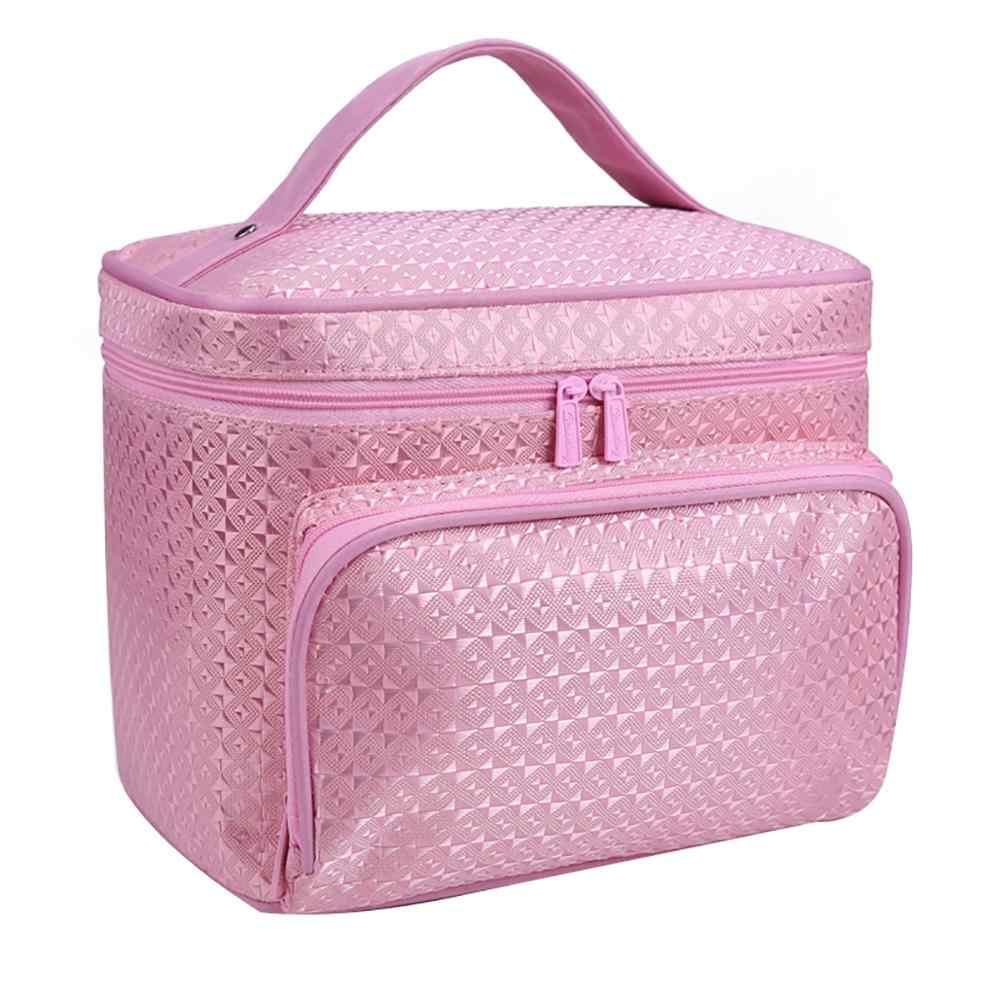 66d72917f343 Ladies Travel Women Makeup Organizer Bag Cosmetic Bag Toiletry Travel Kits  Storage Bag Large Capacity Make