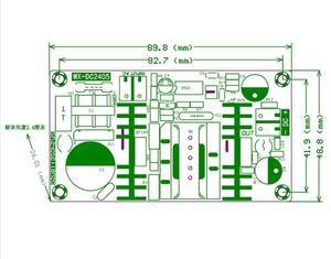 Image 2 - Convertidor de CA a CC, 110v, 220v a CC, 12v, 4A, 50W, placa de alimentación conmutada máxima 6A, módulo de fuente de alimentación del controlador LED