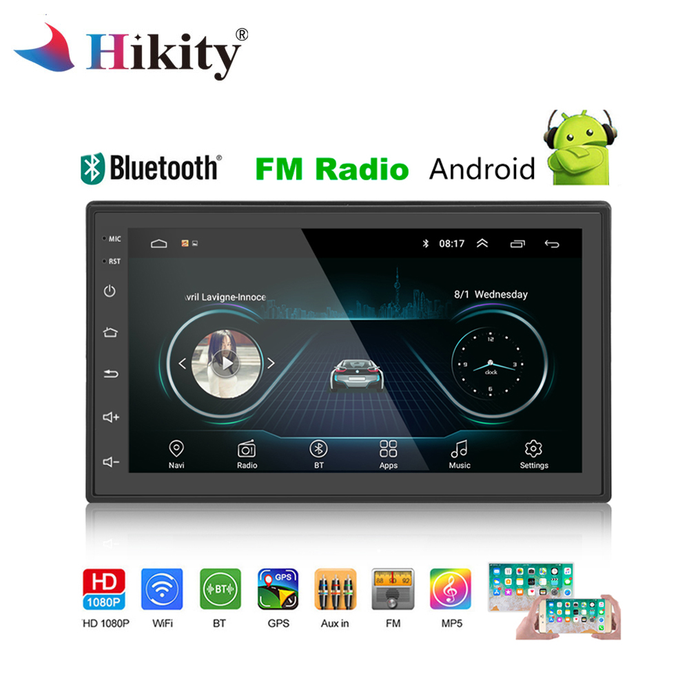 Aliexpress.com : Buy Hikity 2 Din Android Multimedia