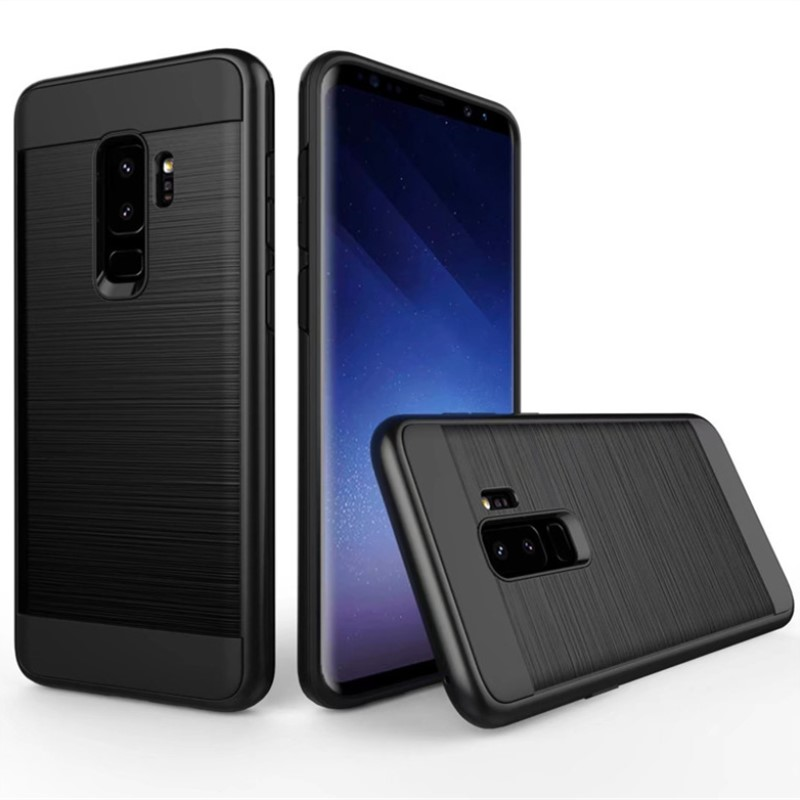 for samsung galaxy s8 s9 plus case luxury hybrid shockproof armor rubber hard cover for a3 a5 a7. Black Bedroom Furniture Sets. Home Design Ideas