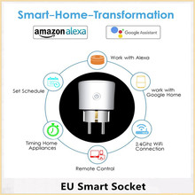 Electrical Smart Socket EU Plug Home Transformation Outlet Adapter Charger Plates Wireless WIFI Remote Control Sockets eu plug pop socket retractable table sockets portable electrical 3 plug 2 usb charger outlet 220 v 16a charger outlet