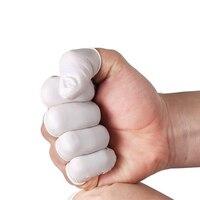 500 шт. одноразовые латексные палец кроватки покрытия ногтей протектор резиновые перчатки для постоянного Макияж татуировки Интимные аксес...