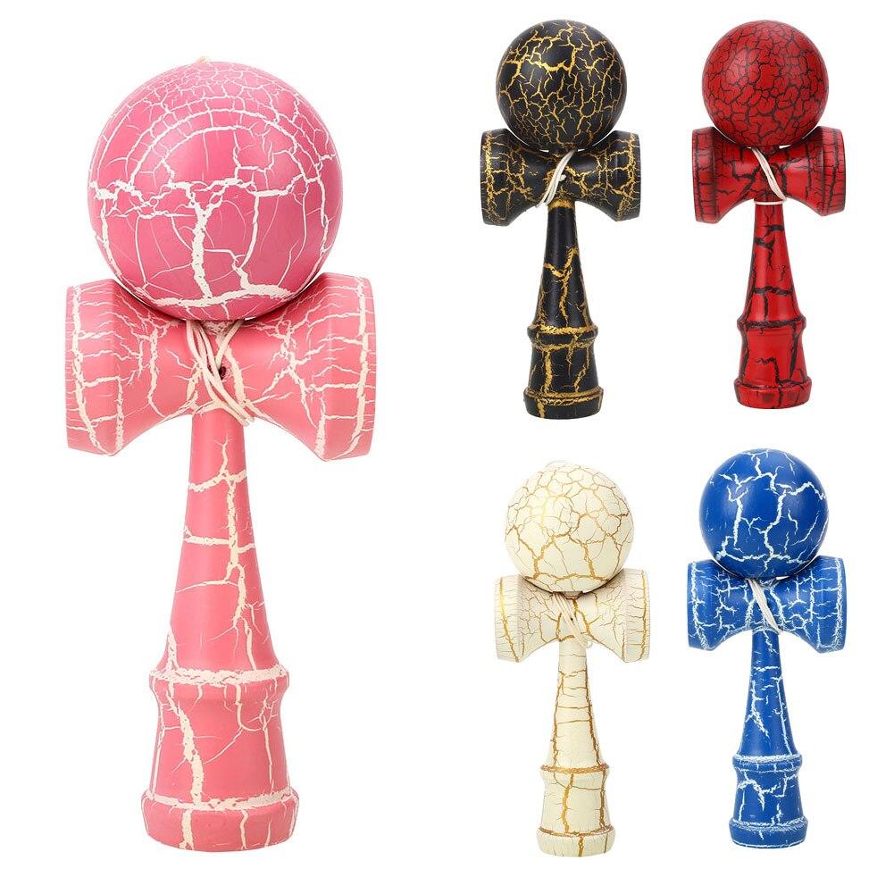 Красочные мастерство мяч костюм рефлексы игрушка кендама для японских Прямая