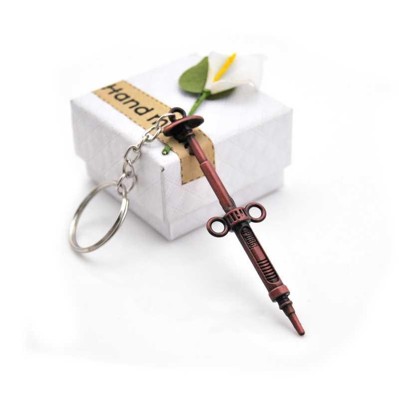 Llavero PUBG personalizado pistola Pop para hombres, espada de jedis, llavero de Anime, llavero de juego, llavero de coche, regalo creativo recuerdo