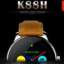 K88h smart watch k18 dm365ที่มี1.22นิ้วipsรอบสนับสนุนหน้าจอป้องกันการสูญหายH Eart Rate Monitorนาฬิกาบลูทูธg3สมาร์ทนาฬิกา